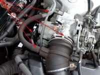 tn_tb1 toyota 4runner highlander throttle body cleaning and o gasket mod