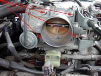 Toyota 4Runner Highlander Throttle Body cleaning and O Gasket Mod