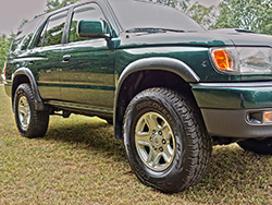 Toyota 4runner Highlander Tire Upgrade Cooper At3