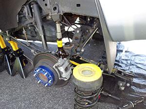 2007 Toyota 4Runner Air Lift