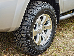 2007 Toyota 4Runner Sport Edition Tire Upgrade - Goodyear ...