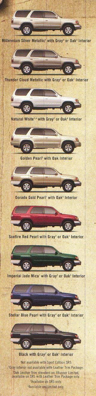 Toyota 4runner History 2002
