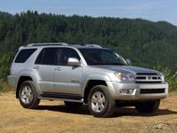 Toyota 4Runner History 2004